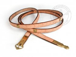 009N Medieval belt with mounts for 13-14 cent.