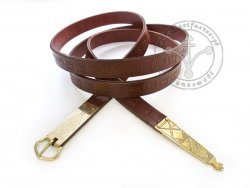 024N Medieval belt for 14 - 15th century