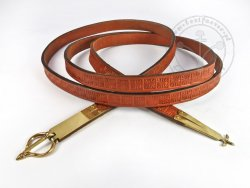 "040W Medieval  belt ""From France"" - thin"