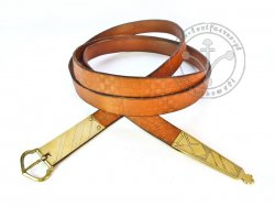 041N Medieval belt for 14 - 15th century