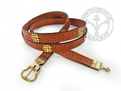 044M Medieval belt for 15th century