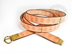 076M Medieval belt - 14-15th cent. - On Stock