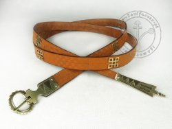 244C Stamped belt for 15th century
