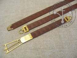 "402 SH Sword girdle ""from Londynu"" for 14-15 cent."