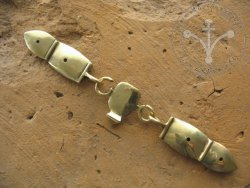 A-07-08 Rapier pendants buckles - set