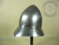 AH-01 Medieval helmet - kettle hut- on stock