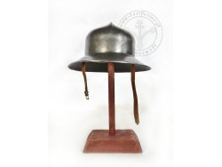 AH-13 15th cent. helmet - kettle hat with lining - ready to battle