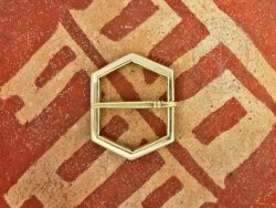 B-115 Hexagonal belt buckle