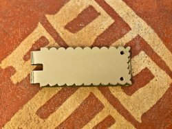 BP-11 Buckle plate - 23 mm