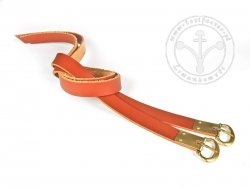 G-135.11M Leather garters - plain