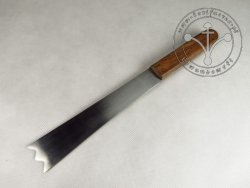 KS-028 Big bread knife with wooden handle