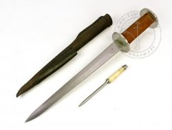 KS-049 Rondel dagger with pricker