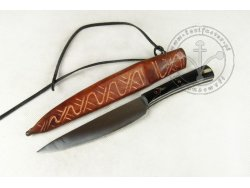 KS-060 Medieval knife with horn handle