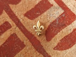 "M-97 Belt mount or scabbard mount ""Fleur de Lys"" - small"