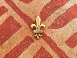 "M-98 Belt mount or scabbard mount ""Fleur de Lys"" - medium"