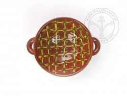 P-115 Cross hatch bowl - 17th cent.