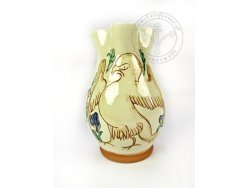 "P-108 Sgraffito jug - ""Bird"""