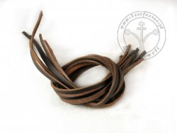 R-61 Leather strap - thick - very dark brown