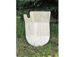 "SD-23 Jousting shield - ""King Mark"" 15th cent. - wooden planks"