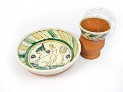 Z-10 Sgraffito pottery set