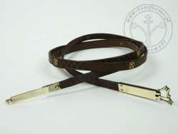 000BF06 Medieval belt with mounts
