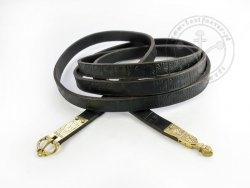 003S Medieval stamped belt for 13-14 cent.