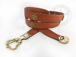 "018S Medieval belt ""from Gdańsk"""