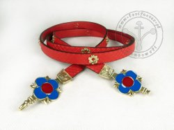 "115C ""Medallion"" women belt"