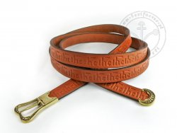 "042N Medieval Belt ""Nicolas Rolin"" - long"
