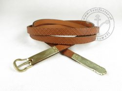 "048C Medieval belt ""from Gdansk"""