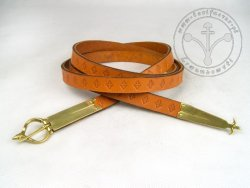 "101C Medieval  belt ""From France"" - thin"