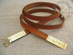 "215C Belt ""from London"" 13-th century"