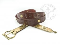 403M Medieval belt with mounts for 13th cent. - ON STOCK