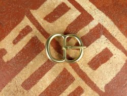 B-041 Double loop buckle for belts or armour
