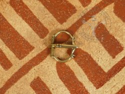 B-150 Ornate oval buckle 1,1 / 1,7 cm