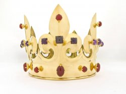 Jeanne de Bourbon crown