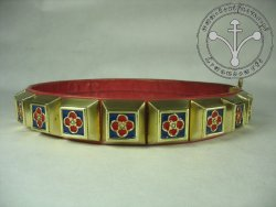 KB 018 Knight Belt - Enameled