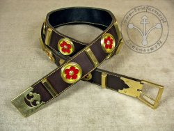 "KB 011 Knight belt ""Voit von Rieneck"""