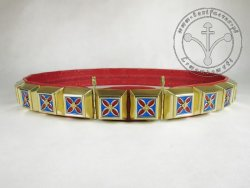 KB 023S Knight Belt - Enameled- Regulated - 90/95/100/105 cm - ON STOCK