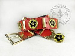 "KB 028 Knight belt ""Voit von Rieneck"""