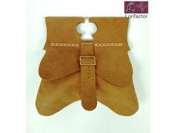 PS-44 Medieval Purse 14-15th cent. - light brown