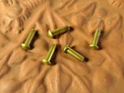 Rt-43 Brass rivet 3x10 mm