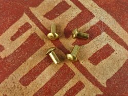 Rt-46 Brass rivet 5x10 mm