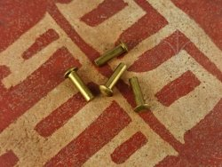 Rt-47 Brass rivet 4x14 mm