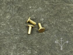 Rt-48 Brass rivet 4x11 mm - for armor brigandine