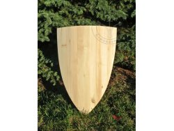 "SD-06 Big triangular shield ""Naumburg"" 13th cent. - wooden planks"