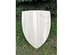 "SD-09 Triangular shield ""Manesse""14th cent. - wooden planks"