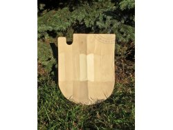 "SD-24 Jousting shield - ""Sir Ganelon"" 15th cent. - wooden planks"