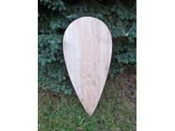 SD-01 Norman Shield 11-12th cent. - wooden planks
