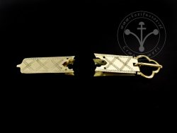 St-09 Buckle and strapend set for 14th cent.